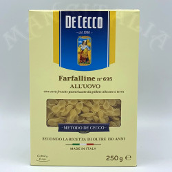 Farfalline Nº 695 Al huevo...
