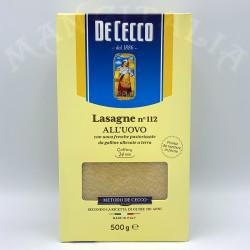 Lasagne Nº112 All'Uovo De...