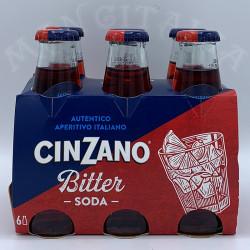 Bitter Soda Pack 6 Uds Cinzano