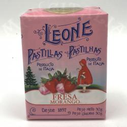 Pastillas Fresa Leone