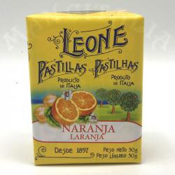 Pastillas Naranja Leone