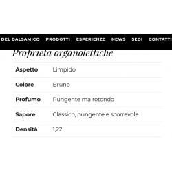Aceto Balsamico Bronce